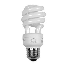 Energy efficient light bulbs save money